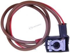 Клемма аккумулятора (+) с проводом ВАЗ-2121 (1,10/0,35м) S10