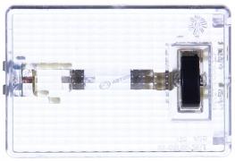 Фонарь освещения салона ВАЗ 2107 (центр) Освар с лампой LADA