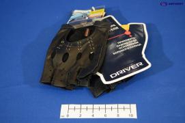 Перчатки водителя мужские, кожа оленя DR507-22