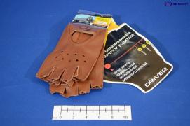 Перчатки водителя женские, овчина DR511-20