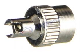 Колпачок камеры (золотника), металл, хром (съемник золотника) (SVC09)*