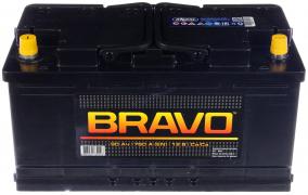 Аккумулятор АКОМ Bravo 90Ач [Европейский/Прямая полярность] 760A