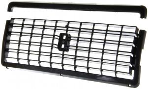 Решетка радиатора ВАЗ-2107 черная с молд. (Декор) (8401014/2104)