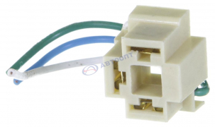 Колодка проводки на фару с проводами Н-4