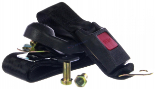 Ремень безопасности 3-х точечный, задних сидений (302A)   (Китай)