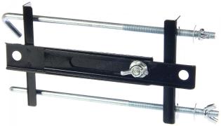 Крепление АКБ 23 мм прямое универсальное (планка раздвижная+2 крючка)
