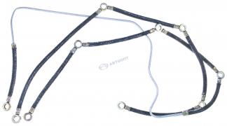 Шланги обратки (гирлянда) (2 шт) КАМАЗ (740-1104346/370)