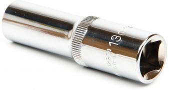 Головка торцевая 13мм (12-гранная/квадрат 1/2) удлиненная Ombra 112213