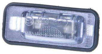 Фонарь освещения номерного знака ВАЗ-2108 без уплотнителя  (г.Тольятти)