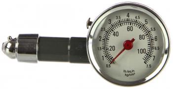 Манометр шинный до  7 атм (металл. корпус) в футляре (AC-1)