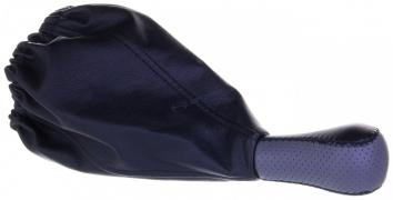 Чехол+ручка КПП ВАЗ 2109-99 (серый) малая ручка