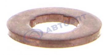 Кольцо форсунки уплотнительное медное Газель дв.CUMMINS ISF 2.8L (5290486/F00 VC17503)