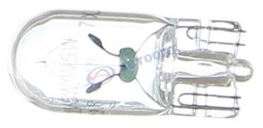 Лампа накаливания T10 [12V; 5W; W2,1x9,5d] Koito (1583)