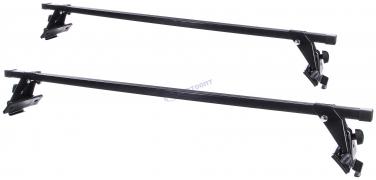 """Багажник ВАЗ 2170 Приора, две поперечины,крепление (1,15 метр)   """"ЕвроДеталь"""""""