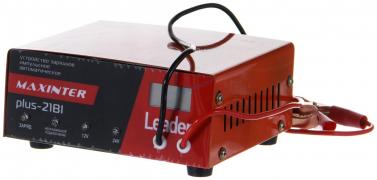"""Зарядное устройство """"PLUS-21Вi"""" (12/24В,210А/ч) н/о имп. автомат, ЖК дисплей,защита,для любых типов АКБ """"OPTIMAX"""""""