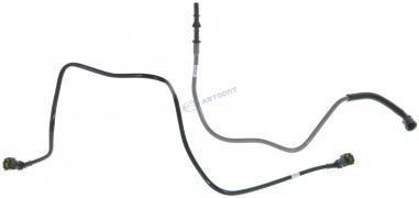 Трубка топливная ВАЗ-2190 Гранта (2шт) (передние) (2190-1164244)