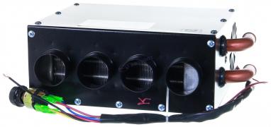 Печка дополнительная 24V универсальная с 4-мя соплами
