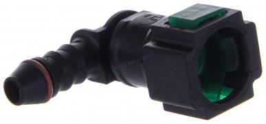 Соединитель ВАЗ-21104 топливного шланга Г-образный