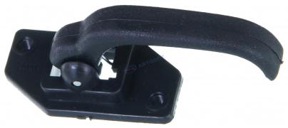 Ручка салона дверная ВАЗ-2107-21213 пластмассовая (крючок)