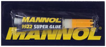 """Суперклей GEL  2 г   """"MANNOL""""  (Германия)"""