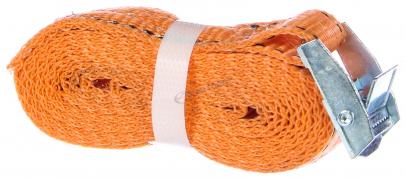 Стяжка для груза  2.5 м (25 мм, 0.3-0,6 тонн, лента+ПРЯЖКА, без механизма)  (г.Москва)