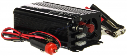 """Преобразователь напряжения 12/220 (800W) от АКБ и прикур-ля, USB разъем (инвертор) """"K&S"""""""