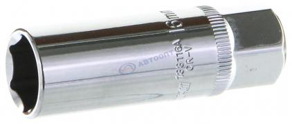 """Ключ свечной (головка) 3/8"""" 16мм (138116A)  """"OMBRA""""  (Тайвань)"""