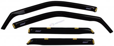 Дефлектор боковых стекол (ветровики) ВАЗ-2110 (вставные) AZARD (ДЕФ00004)
