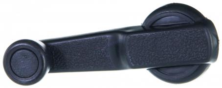 Ручка стеклоподъемника ВАЗ-2105 пластмассоваяс фиксатором (2105-6104064)