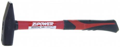 """Молоток  600гр фиберглассовой ручкой (PM6498)  """"ZIPOWER"""""""