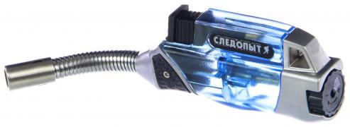 """Горелка газовая МИНИ с пьезоэлементом, заправляемая, длинное сопло (GTP-R03) """"Следопыт"""""""