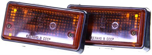 Стекла указателей поворотов ВАЗ-2106, 2121 прозрачные