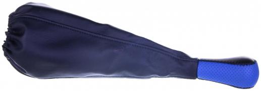 Чехол+ручка КПП ВАЗ 2101-07 (синий)