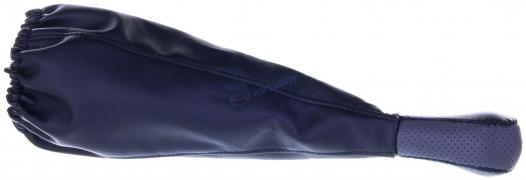 Чехол+ручка КПП ВАЗ 2101-07 (серый)