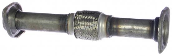Труба выхлопная (вместо катализатора) ВАЗ-2110 инжектор виброкомпенсатор (АК2110-1206010-50) (г. Н.Новгород)