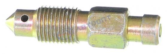 Штуцер прокачки тормозов ГАЗ ключ 10 (53-3501048)  (г.Н.Новгород)