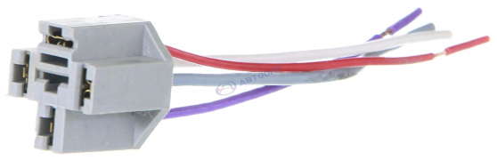 Колодка проводки на реле с проводами (4 контакта) (0,12м)