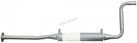 Резонатор ВАЗ-2110 без катализатора (АК 2110-1200020) (г. Н.Новгород)