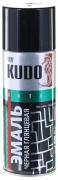 Эмаль широкого спектра действия алкидная [Черный, глянцевый, аэрозоль] 520 мл Kudo (KU-1002)
