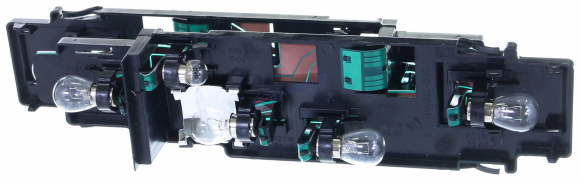 Плата заднего фонаря ВАЗ-2108 в сборе (корпус с патронами и лампочками) (2 шт)