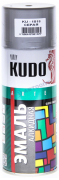 Эмаль широкого спектра действия акрил [Серый, блеск, аэрозоль] 520 мл Kudo (KU-1018)