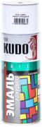 Эмаль широкого спектра действия алкидная [Белый, глянцевый, аэрозоль] 520 мл Kudo (KU-1001)