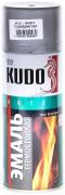 Эмаль для кузова кремнийорганическая термостойкая [Серебро, аэрозоль] 520 мл Kudo (KU-5001)