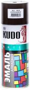 Эмаль широкого спектра действия алкидная [Коричневый, блеск, аэрозоль] 520 мл Kudo (KU-1012)