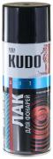 Лак для фар акрил [Черный, аэрозоль] 520 мл Kudo (KU-9021)