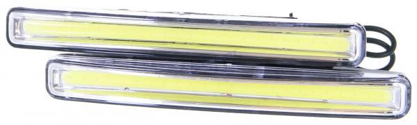 """Огни дневные ходовые KS-0636 COB (1 сплошной диод, 153*30*17мм), с отражателем, 2.5W """"K&S"""""""