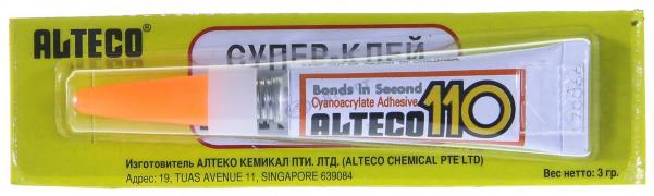 Суперклей ALTECO-110 3 г (Япония)