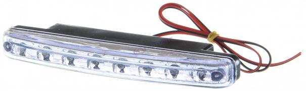 """Огни дневные ходовые KS-0815 (8 LED) хром, провода """"K&S"""""""