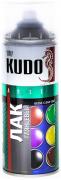 Лак широкого спектра действия акрил [Прозрачный, глянцевый, аэрозоль] 520 мл Kudo (KU-9002)
