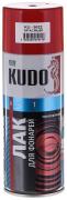 Лак для фар акрил [Красный, аэрозоль] 520 мл Kudo (KU-9022)